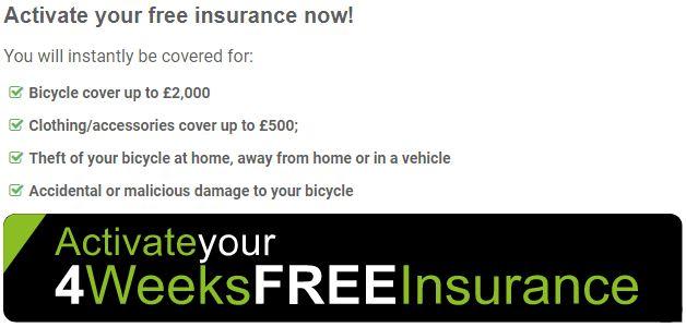 4 week free insurance banner