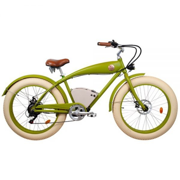 Green Rayvolt beachin ebike